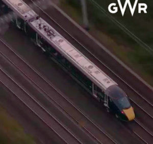 GWR Intercity train launch - Facebook Live & BBC News