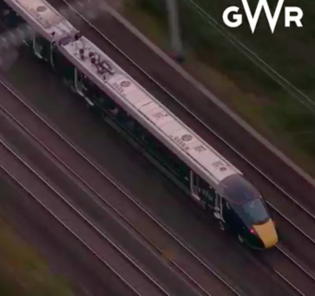 GWR Intercity train launch - Facebook Live & BBC News